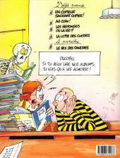 Verso de L'Élève Ducobu -4- La lutte des classes