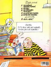 Verso de L'Élève Ducobu -5- Le roi des cancres