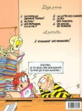 Verso de L'Élève Ducobu -6- Un amour de potache