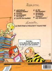 Verso de L'Élève Ducobu -7- Vivement les vacances!