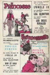 Verso de Frimousse et Frimousse-Capucine -192- Opération lune