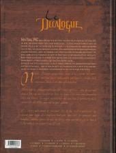 Verso de Le décalogue -6- L'échange