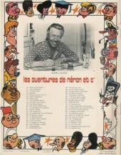Verso de Néron et Cie (Les Aventures de) (Érasme) -55- Le sixième lutin