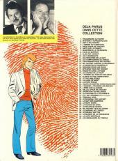 Verso de Ric Hochet -2c1987- Mystère à Porquerolles