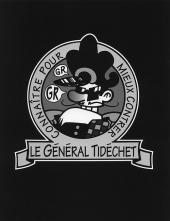 Verso de Général Tidéchet -2- À vos Ordres Général Tidéchet