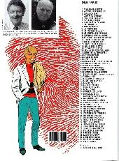 Verso de Ric Hochet -62- B.D. meurtres