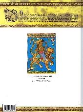 Verso de Tandori -1- Le réveil de l'éléphant bleu