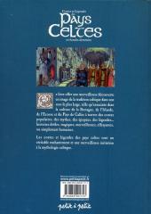 Verso de Contes et Légendes (chez Petit à Petit) - Contes et légendes des pays celtes en bandes dessinées