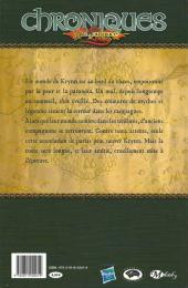 Verso de Chroniques de DragonLance -1- Dragons d'un crépuscule d'automne