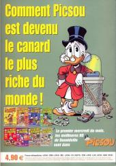 Verso de Picsou Magazine Hors-Série -9- Les trésors de Picsou