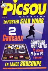 Verso de Picsou Magazine -334- Picsou Magazine N°334