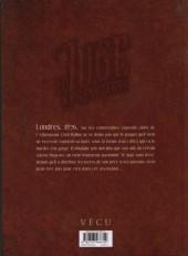 Verso de Le juge sans terre -1- Lumière éteinte