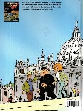 Verso de Les enquêtes Scapola -1- Le manuscrit de Judas