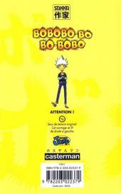 Verso de Bobobo-bo Bo-bobo -13- Tome 13