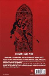 Verso de Daredevil par Frank Miller
