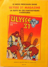 Verso de Ulysse 31 (Magazine) -7- Les Lestrygons