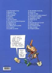 Verso de Pierre Tombal -26- Pompes funèbres
