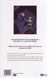 Verso de Le dernier des templiers -1- La Prophétie