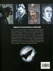 Verso de Sur les traces de Dracula -INT- L'intégrale & le guide