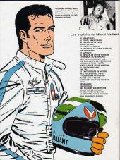 Verso de Michel Vaillant -11b1976- Suspense à Indianapolis