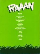 Verso de Raaan - Tome TL