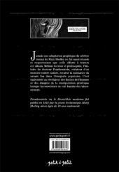 Verso de Frankenstein (Ribas) - Frankenstein