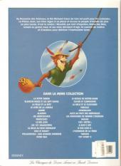 Verso de Les classiques du dessin animé en bande dessinée -33- Robin des Bois