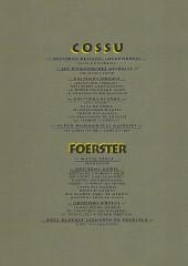 Verso de Foerster - Cossu