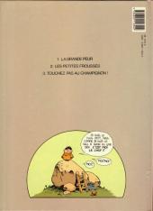Verso de Les bogros -3- Touchez pas au champignon !