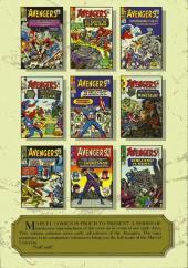 Verso de Marvel Masterworks (1987) -9- The Avengers n° 11-20