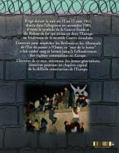 Verso de Le mur - Berlin 1961-1989
