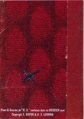 Verso de Blake et Mortimer (Divers) -1PF1- Les Dossiers de l'