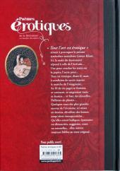 Verso de Poèmes érotiques - Poèmes érotiques de la littérature en bandes dessinées