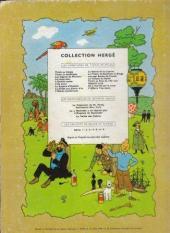 Verso de Tintin (Historique) -17B22- On a marché sur la lune