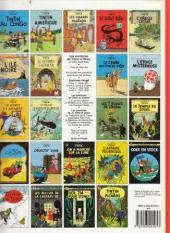 Verso de Tintin (Historique) -6C8- L'oreille cassée