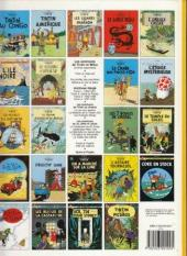 Verso de Tintin (Historique) -10C8- L'étoile mystérieuse