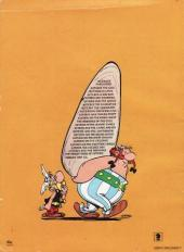 Verso de Astérix (en anglais) -19a- Asterix and the soothsayer