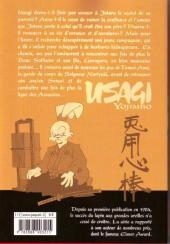 Verso de Usagi Yojimbo -19- Volume 19