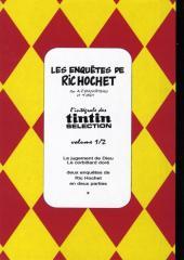 Verso de Ric Hochet -TL1- Les enquêtes de Ric Hochet