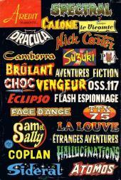 Verso de Le vicomte (Comics Pocket) -1- La peau du Vicomte