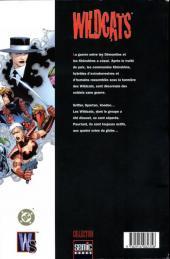 Verso de WildC.A.T.S (Semic Books) -1- Wildcats 1