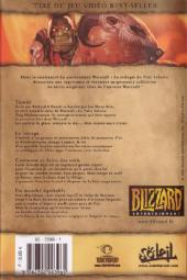 Verso de Warcraft Legends -1- Volume 1