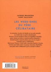 Verso de Les week-ends du père célibataire - Les Week-ends du père célibataire