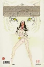 Verso de White tiger - L'instinct du héros