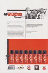 Verso de WildC.A.T.S version 3.0 -1- Imposition des marques