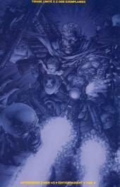 Verso de Astonishing X-Men (kiosque) -45TL- Bébé de guerre