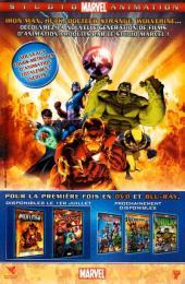 Verso de Astonishing X-Men (kiosque) -51- Les règles du jeu
