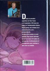 Verso de Yoko Tsuno -HS2TL- Missives spatiales