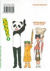 Verso de Yotsuba & -8- Volume 8