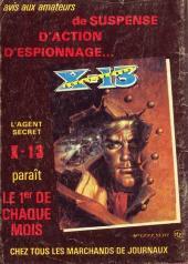 Verso de Z33 agent secret -117- L'odyssée du capitaine
